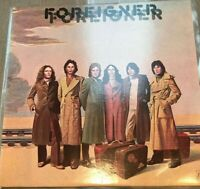 FOREIGNER self titled LP EX/VG K 50356, vinyl, album, uk, 1977, arena rock, pop