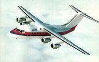 Vintage Postcard - Airplanes & Air crafts - United Express BAe 146 #4343