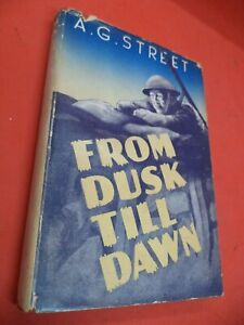 FROM DUSK TILL DAWN old vintage book AG STREET ww2 HISTORY british home guard