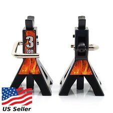 Yeah Racing 1/10 RC Accessory Height Adjustable 3 Ton Jack Stand 2pc YEA-YA-0449