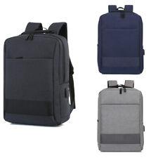15.6 in Laptop Backpack Bag +USB Charging Port Anti-theft Travel Shoulder Bag