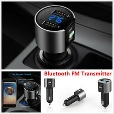 Wireless Bluetooth FM Transmitter Handsfree Radio Adapter MP3 Player Car Charger