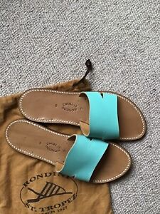 Cute Handmade Sandals By St Tropez Brand Rondini. Size 38
