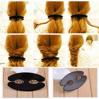 Braid Hair Braiding French Braid Tool Roller Magic Twist Styling Bun Maker Q0V8