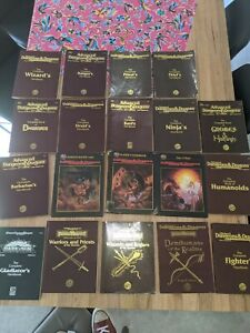 2nd edition Advanced Dungeons And Dragons Books