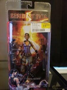 Resident Evil 5 Sheva Alomar Action Figure NECA Capcom Confidential File 01