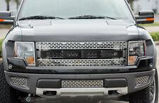 2010-2014 Ford F-150 Raptor Carbon Fiber FORD Front Grille Grill Letters Emblems
