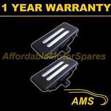 2x per BMW X1 E84 X3 F25 X5 E70 X6 E71 18 LED BIANCHI SPECCHIO NERO SUN VISOR LUCI