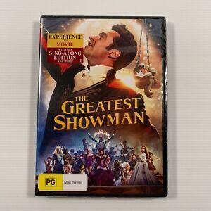 The Greatest Showman (DVD, 2018) Hugh Jackman Region 4 new sealed