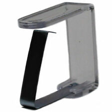 12 Edelstahl Tischtuchklammern GASTRO Tischdeckenklammern rostfrei Tischklammern