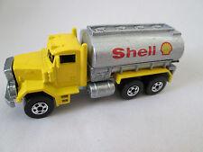"1979 Mattel Hot Wheels Peterbilt ""Shell Gas/Oil"" Tanker Truck Malaysia (Mint)"