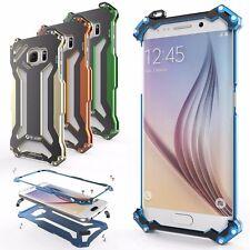 R-Just Complet Métal Aluminium Antichoc Coque Étui Arrière pour Samsung Galaxy