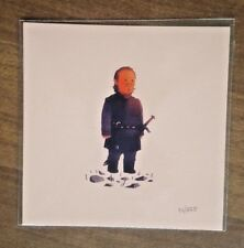 Olly Moss -  Bronn Game of Thrones - Mini 5x5 Art Print Poster GoT