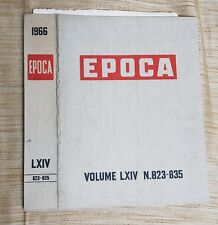 COPERTINA IN TELA PER RILEGARE RIVISTE EPOCA- ANNO 1966-DAL N. 823 AL N.835