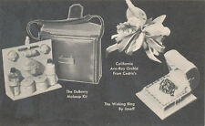 C6541 1960 ADVERTISING POSTCARD GIFTS  BRENAMANS BROADCAST HOLLYWOOD CA
