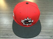 Team Canada 2017 World Baseball Classic On Field 59fifty Hat Cap New Era 7 5/8