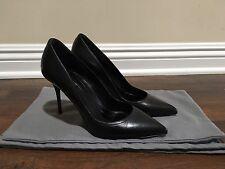 Alexander McQueen Pointed Toe Black Heels