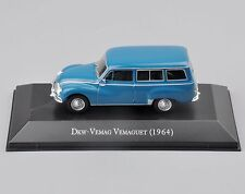 Kids Gift Atlas DKW-VEMAG Vemaguet 1964 1/43 Diecast Car Model Toy Collection