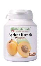 100% Additive Free!!!! Apricot Kernels 500mg/ 90 capsules/ Vitamin B17