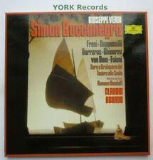 DG 2709 071 - VERDI - Simon Boccanegra ABBADO / FRENI - Ex 3 LP Record Box Set