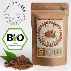 1kg Bio Kakaopulver - stark entölt, 10-12% Fett |Kakao Pulver Rohkost Qualität