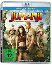 Jumanji: Willkommen im Dschungel 3D Blu-ray + 2D NEU OVP Vorbestellung