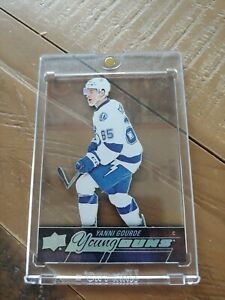 2016/17 Upper Deck Young Guns Acetate Yanni Gourde Rare!!