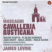 Sony Opera House Mascagni: Cavalleria Rusticana James Levine (New & Sealed CD)