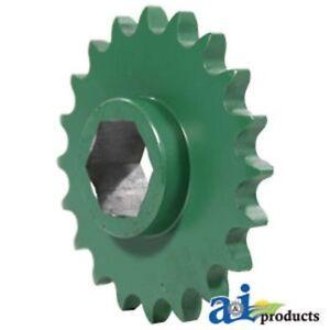 AE39650 Sprocket; Starter Roll Drive 20 Tooth Fits John Deere: 330,335,375,