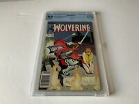WOLVERINE 3 CBCS 9.8 WHITE PAGES NEWSSTAND EDITION MARVEL COMIC 1989 LIKE CGC