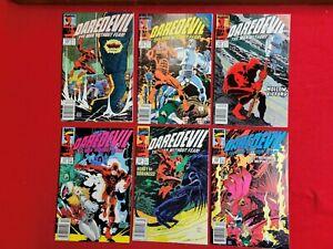 Daredevil comics lot 5