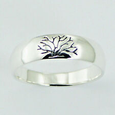 USA Seller Tree of Life Band Ring Sterling Silver 925 Best Deal Jewelry Size 9