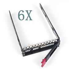 6X 3.5'' HP APOLLO 4200 GEN9/GEN10 ML110 ML350LFF SAS/SATA DRIVE TRAYS *NEW*