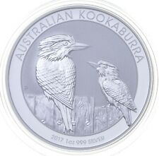 2017 Australian Australia Kookaburra High Relief 1 Oz Silver .999 *293