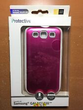 NEW! CASE LOGIC PINK PROTECTIVE CASE FOR SAMSUNG GALAXY S3 FREE SHIPPING