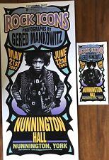 Rock Icons Photographs By Gerard Mankowitz Poster And Handbill Mark Arminski
