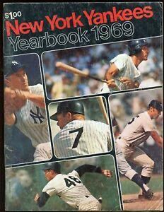 1969 New York Yankees Yearbook VG