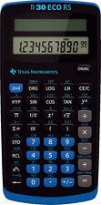 TI-30 ECO RS Texas Instruments Schulrechner Solar - Taschenrechner