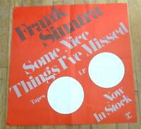 Frank Sinatra Record Store Promo Poster Tapes LP Now in Stock