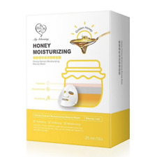 [MY SCHEMING] GOLDEN HONEY EXTRACT Moisturizing Facial Mask 1box 10pcs NEW