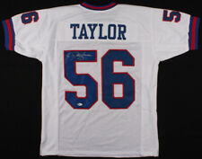 Lawrence Taylor Signed New York Giants Jersey (Beckett COA) 2×Super Bowl Champ
