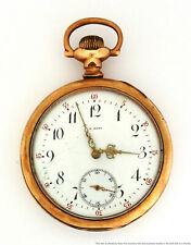 A. Merz 17j Mens Pocket Watch To Fix