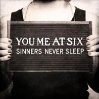 YOU ME AT SIX - SINNERS NEVER SLEEP NEW CD