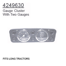 4249630 Long Tractor Parts Gauge Cluster With Two Guages
