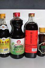 Essential Asian Style Seasonings: Cooking Wine, Vinegar, Soy Sauce & Sesame Oil