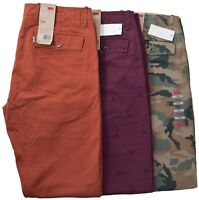 Levis Men's $58 Slightly Tapered Chino Casual Pants Choose Style Color & Size