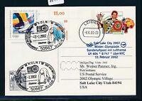 66175) LH Olympiade SF Köln - Salt Lake City 11.2.2002, GA ab Niederlande
