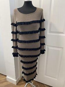 Bitte Kai Rand Wool Dress Sz S 10 12 Knitted Jumper Dress