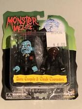 """Mezco Mez-Itz Monster 3"""" Figures 2003 Universal Horror McFarlane Kubrick"""