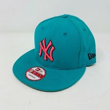 New Era Turquoise - Pink - New York Yankees 59Fifty Snapback Hat